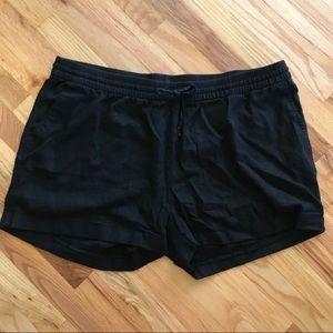 Old navy linen black shorts
